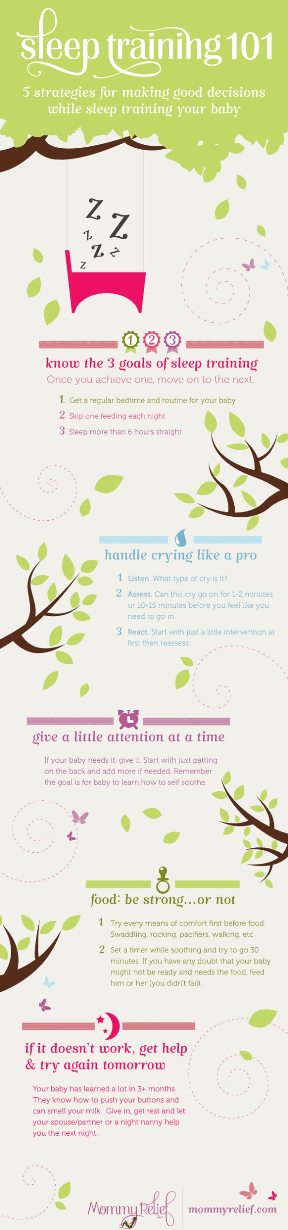 5 Strategies Assisting You With Sleep Training Your Baby (Infographic)