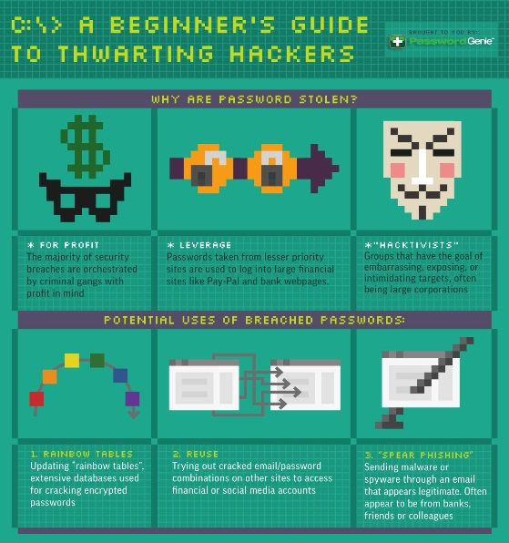 A Beginner's Guide to Thwarting Hackers (Infographic)