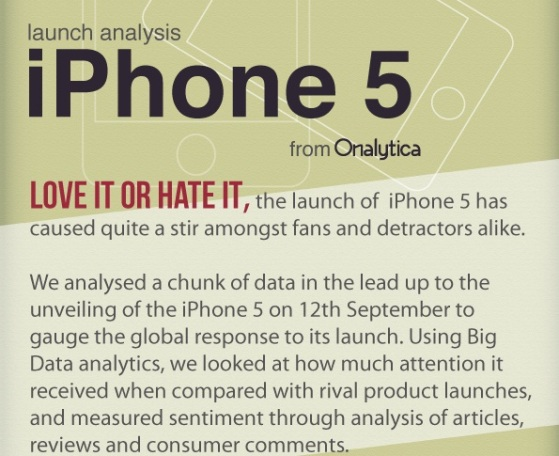 iPhone 5 launch analysis