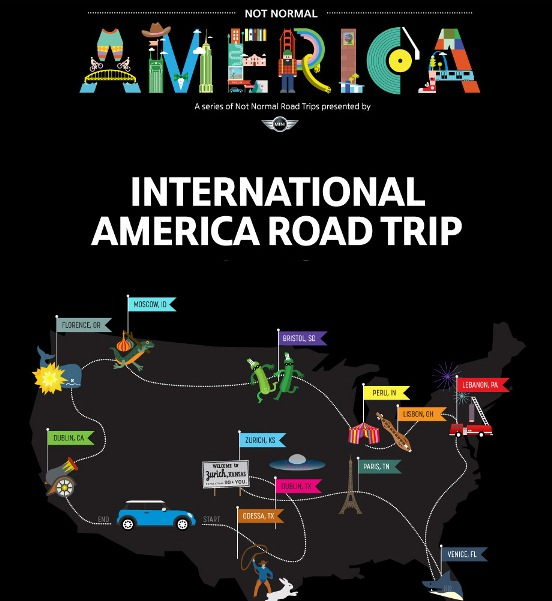 international america roadtrip