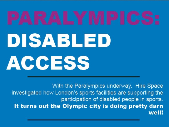 paralympics disabled access