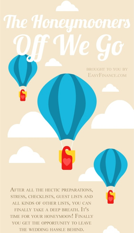 The Honeymooners: Off We Go! (Infographic)