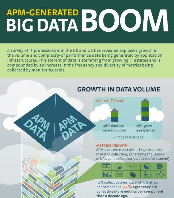 APM-Generated Big Data Boom (Infographic)