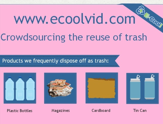 crowdsourcing the reuse of trash