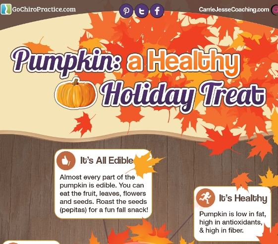 fun pumpkin health facts for halloween and thanksgiving