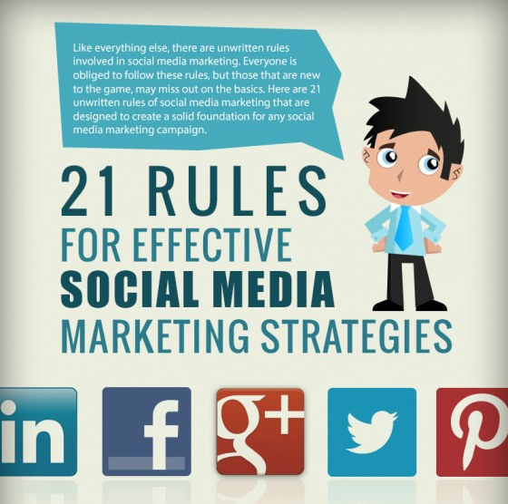 21 rules for effective social media marketing strategies 1