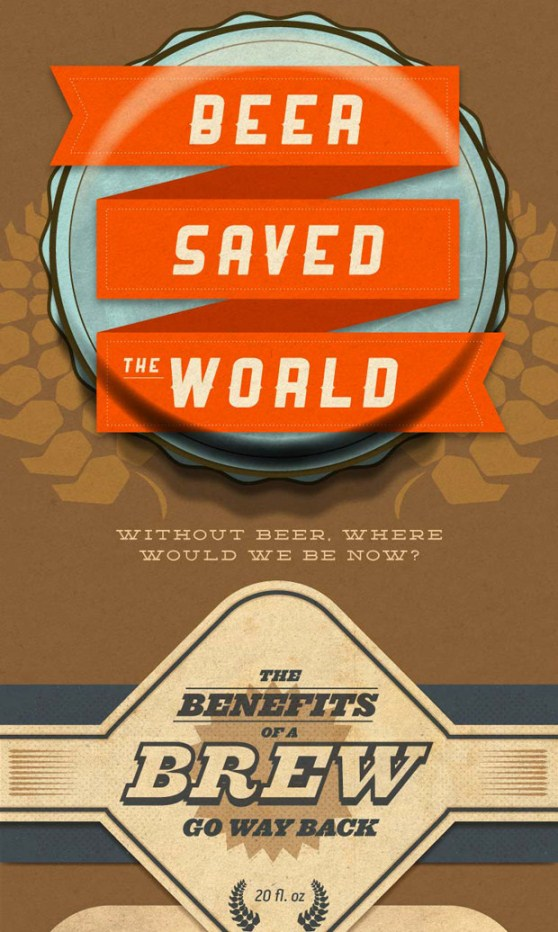 beer saved the world 1