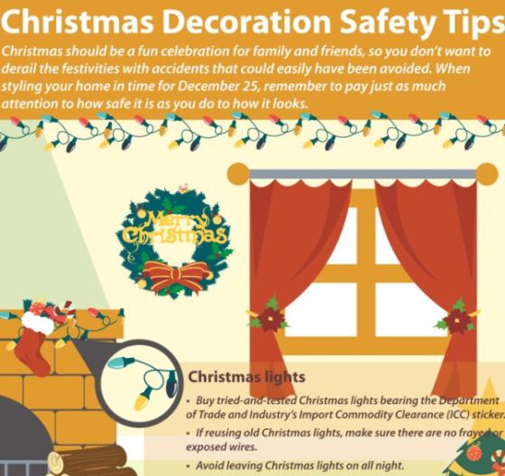 christmas decoration safety tips 1