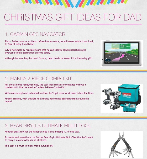 christmas gift ideas for dad 1