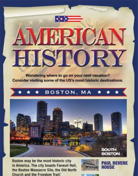 History of America (Infographic)
