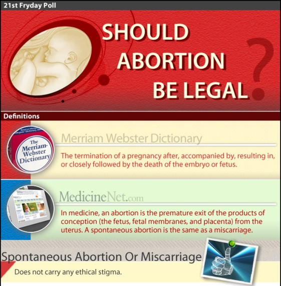 Abortion should be legalized essay