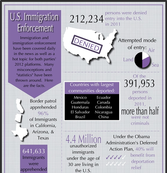 U.S. Immigration Enforcement (Infographic)