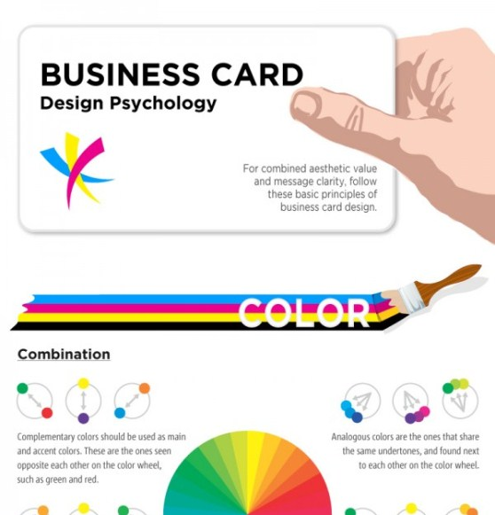psychology of business card design 1