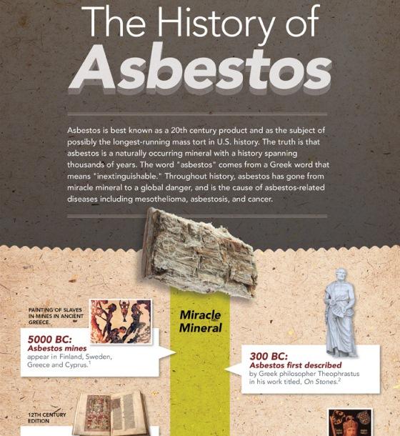 Top 10 Asbestos Infographics