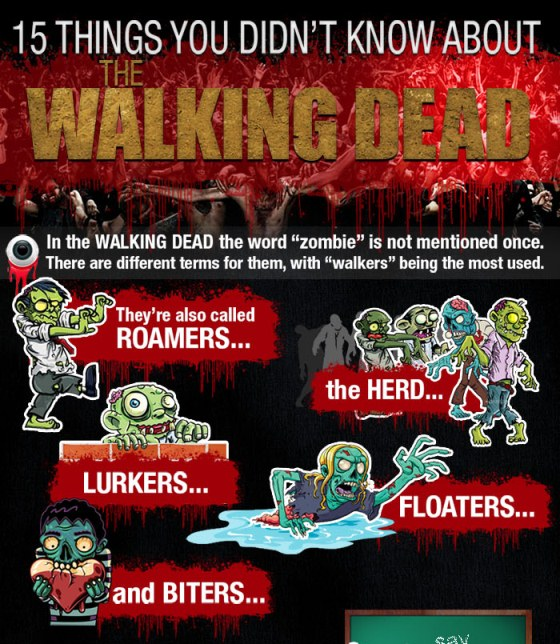 15 things you didn't know about the walking dead 1