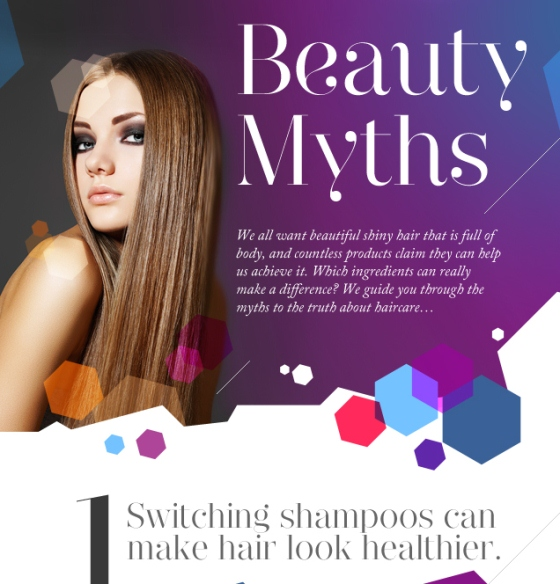Beauty Myths (Infographic)