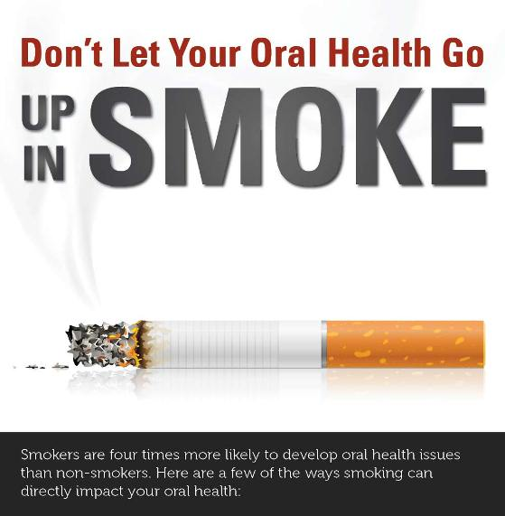 don't let your oral health go up in smoking 1
