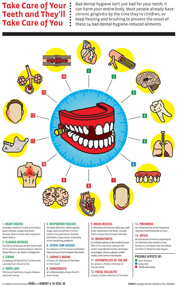 Top 10 Dental Infographics