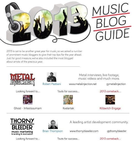 2013 music blog guide 1