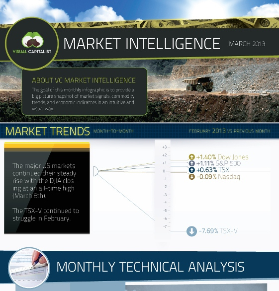 VC Market Intelligence March 2013 (Infographic)
