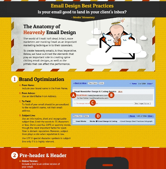 Email & Newsletter Design Best Practices; an interactive infographic & checklist (Infographic)