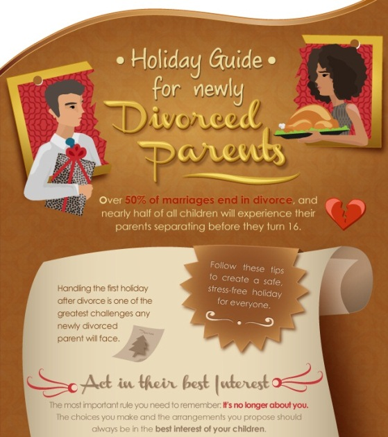 newly divorced parents holiday guide 1