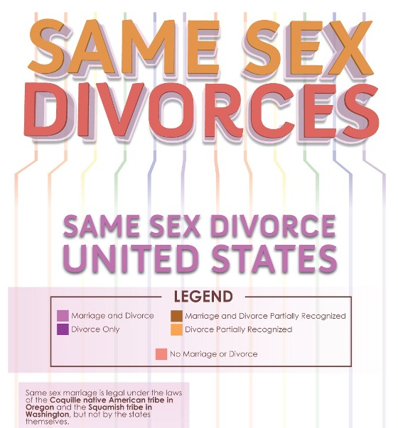 same sex divorces in the united states 1