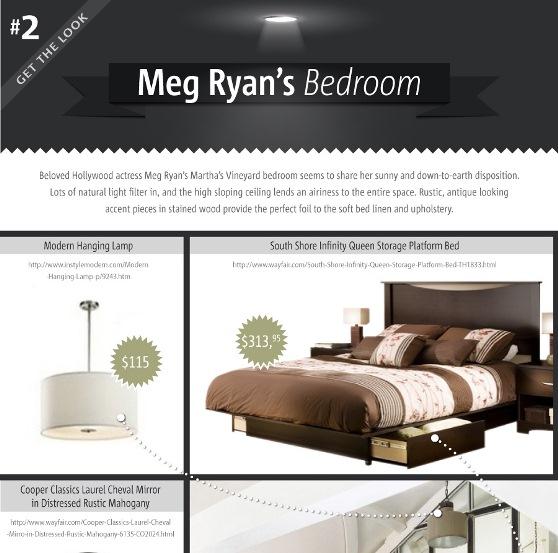get the look meg ryan's bedroom 1