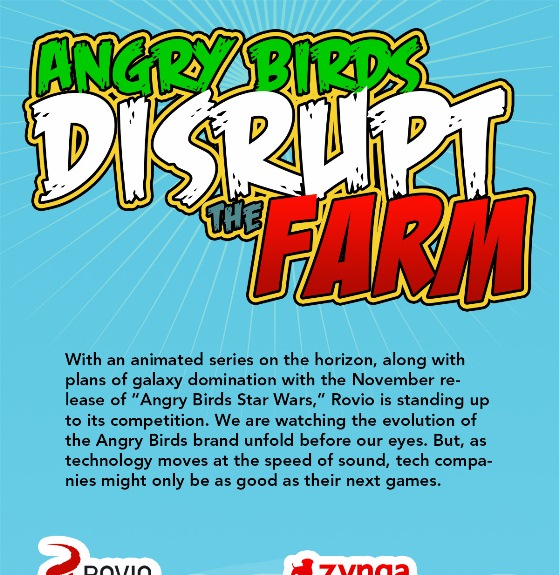 angry birds disrupt the farm 1