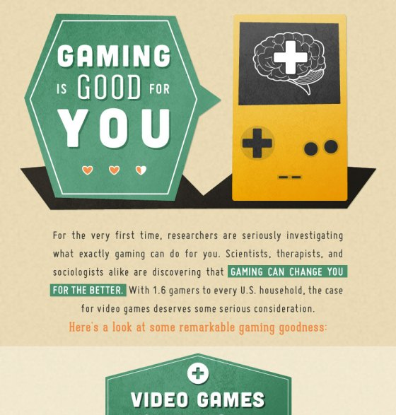 gaming is good for you 1