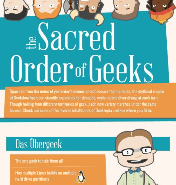 the scared order of geeks 1