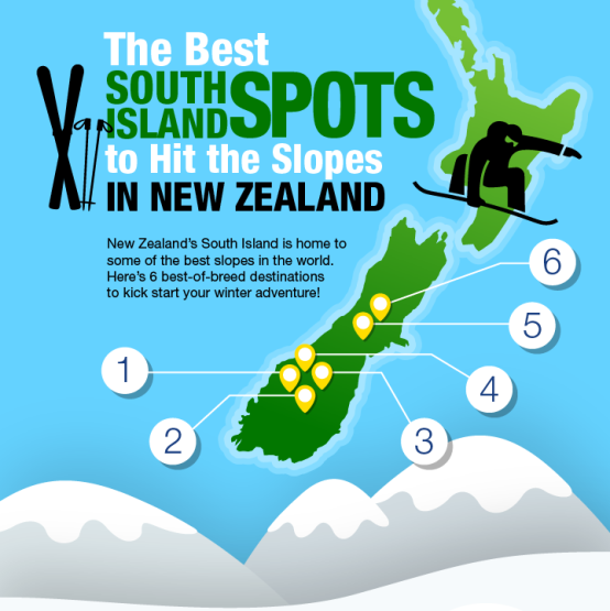 6 of the Best Ski Spots Across New Zealand's South Island