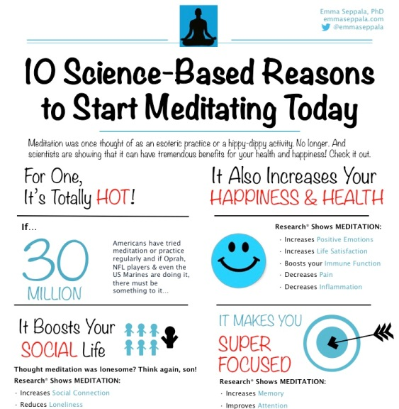 10 Fabulous Ways Meditation is Good for You