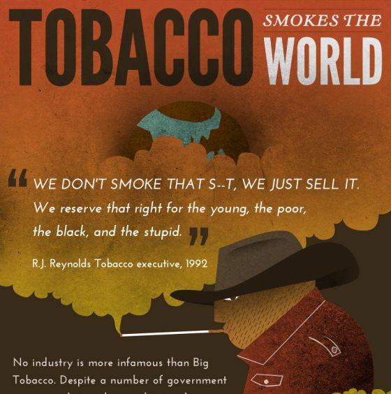 tobacco smokes the world 1