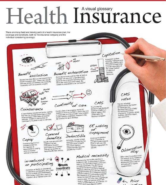Top 5 Health Insurance Infographics