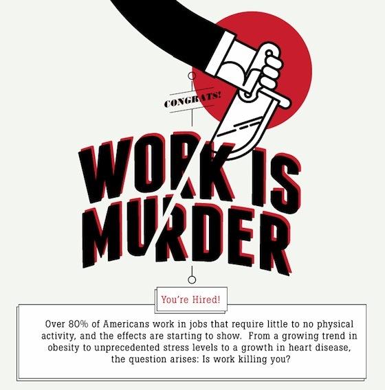 workplace health work is murder 1