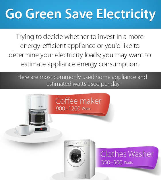 go green save electricity 1