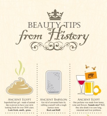 30 Unbelievable Beauty Tips from History