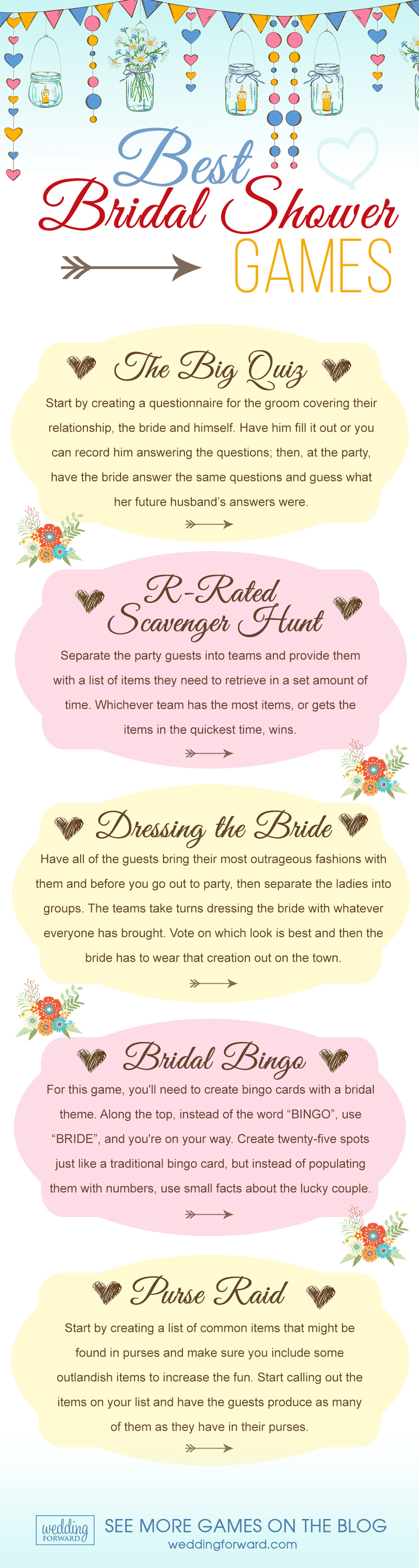 7 of the Best Bridal Shower Games for the Perfect Bridal Shower